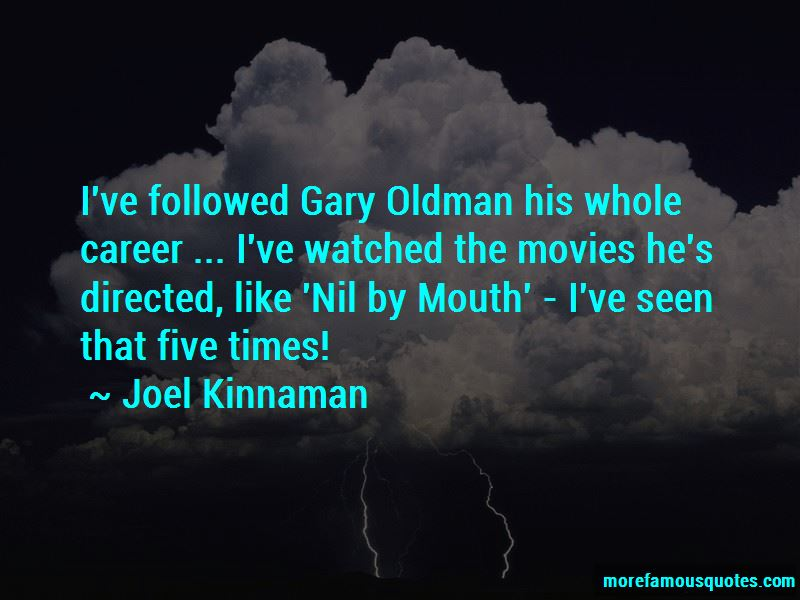 Nil By Mouth Quotes Pictures 4