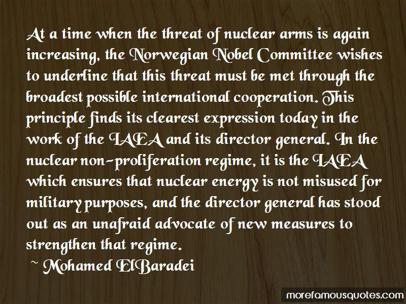 Non-proliferation Quotes