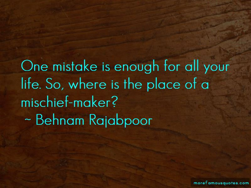 One Mistake Is Enough Quotes Pictures 2