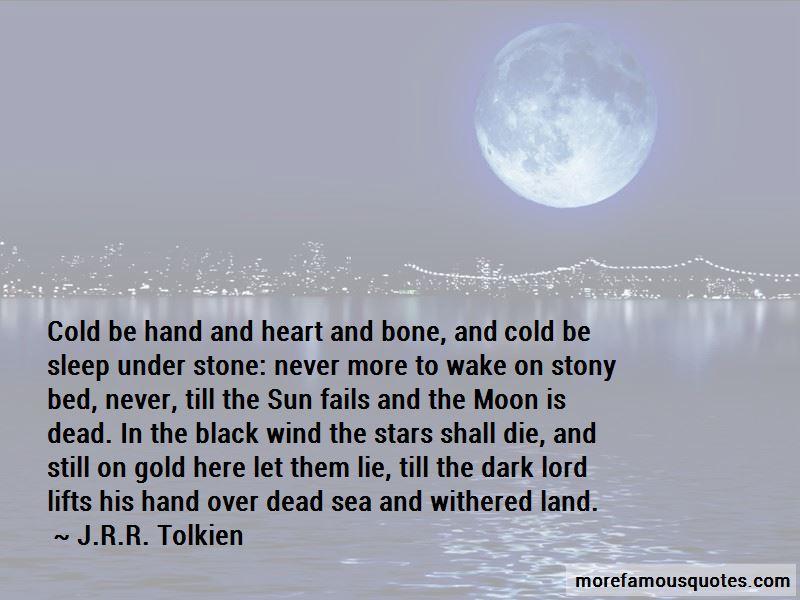 Over Sea Under Stone Quotes