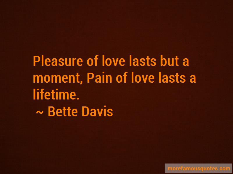 Pain And Pleasure Love Quotes