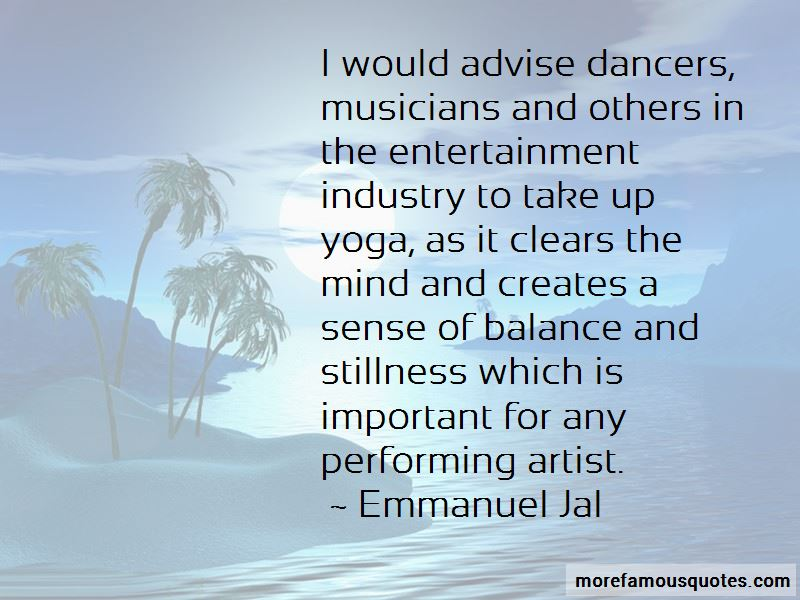 Performing Artist Quotes