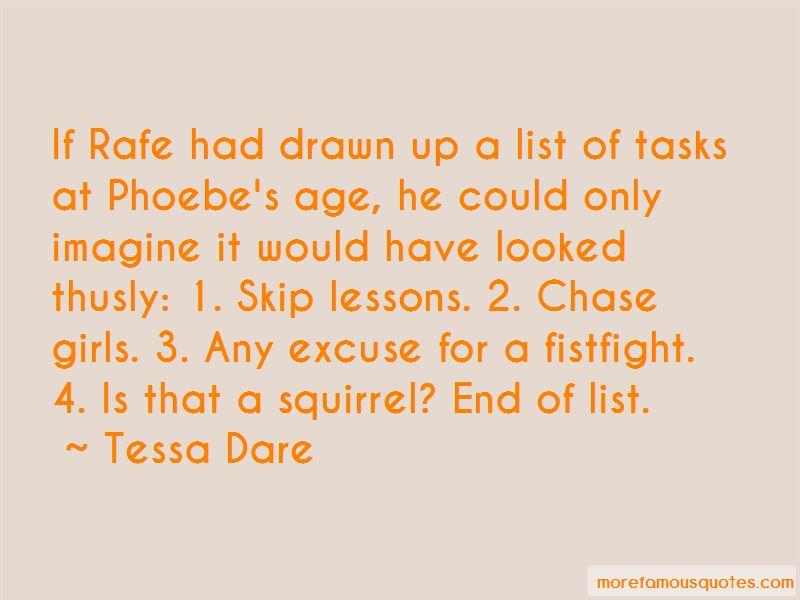 Phoebe's Quotes
