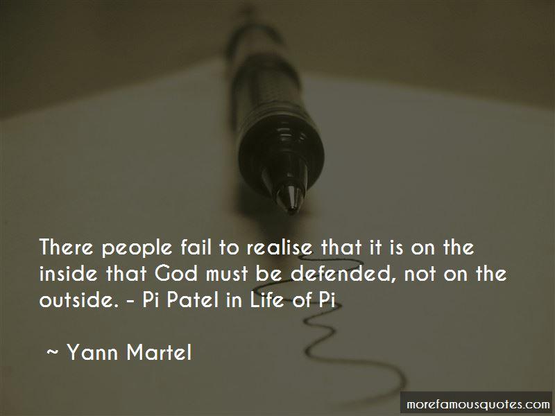 Pi Patel Life Of Pi Quotes