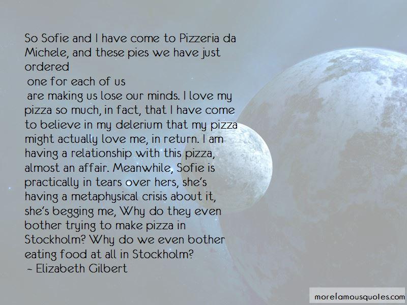 Pizzeria Quotes