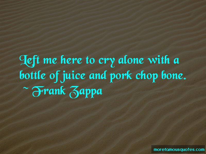 Pork Chop Quotes