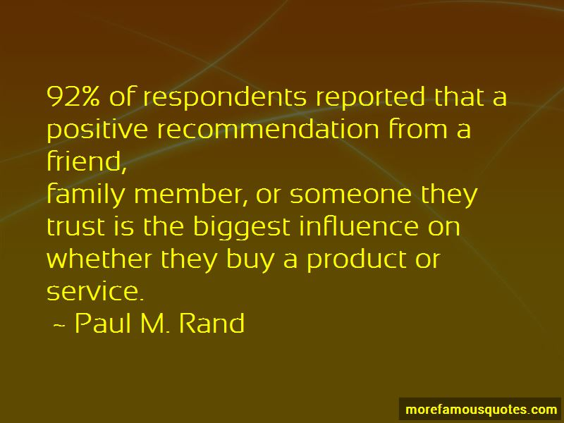 Positive Recommendation Quotes