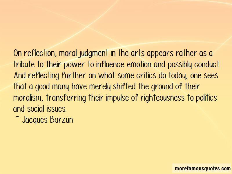morality reflection