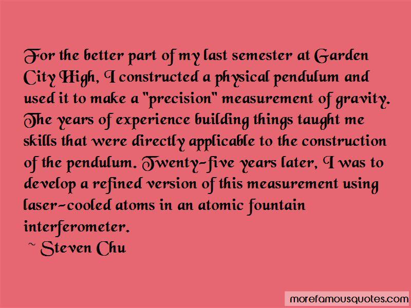 Precision Measurement Quotes