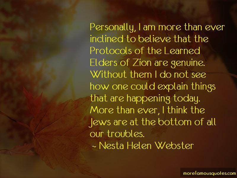 Protocols Of Zion Quotes