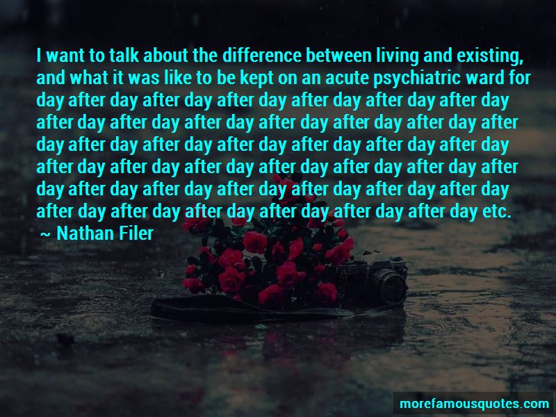 Psychiatric Ward Quotes