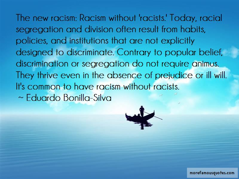 an introduction to the issue of prejudice and racism Investigate an issue of racism and/or discrimination in relation to the law  introduction racism comes in many forms, but its outcome is the same.