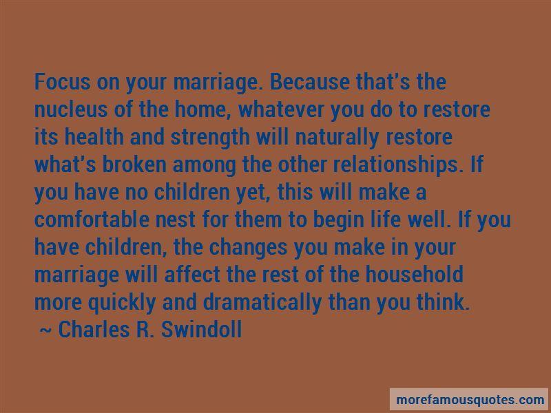 Restore Marriage Quotes