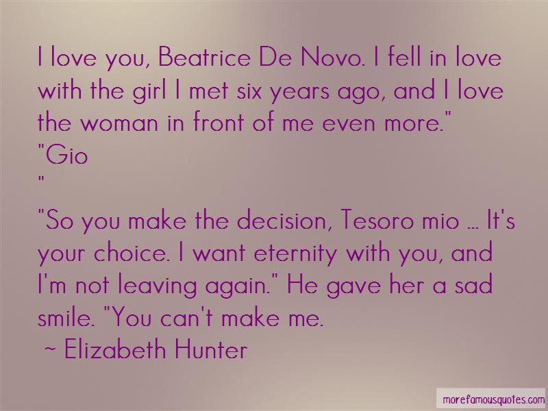 Sad Decision Love Quotes Pictures 2