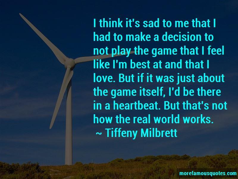 Sad Decision Love Quotes Pictures 3