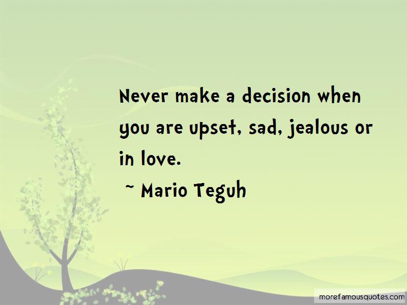 Sad Decision Love Quotes