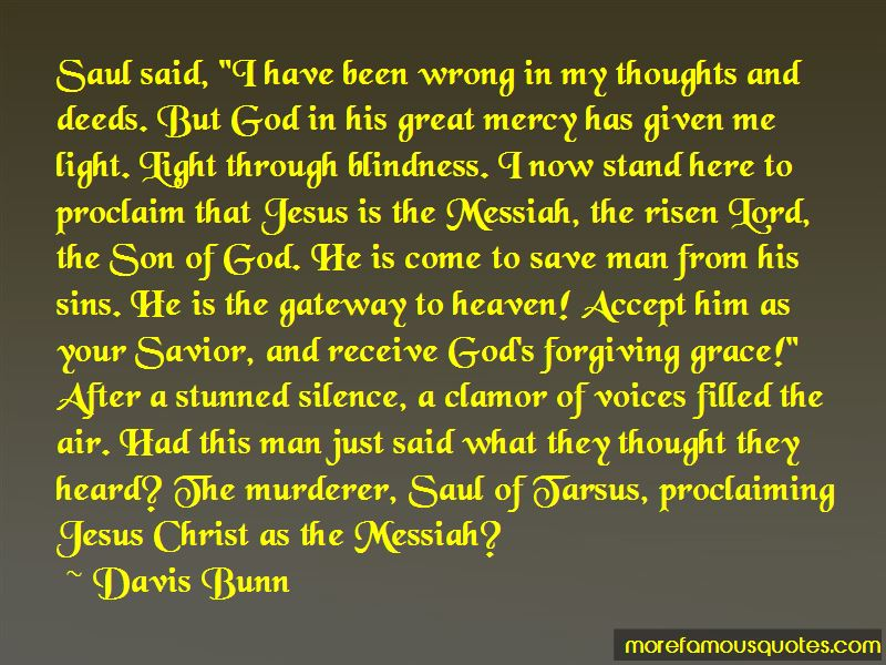 Saul Of Tarsus Quotes