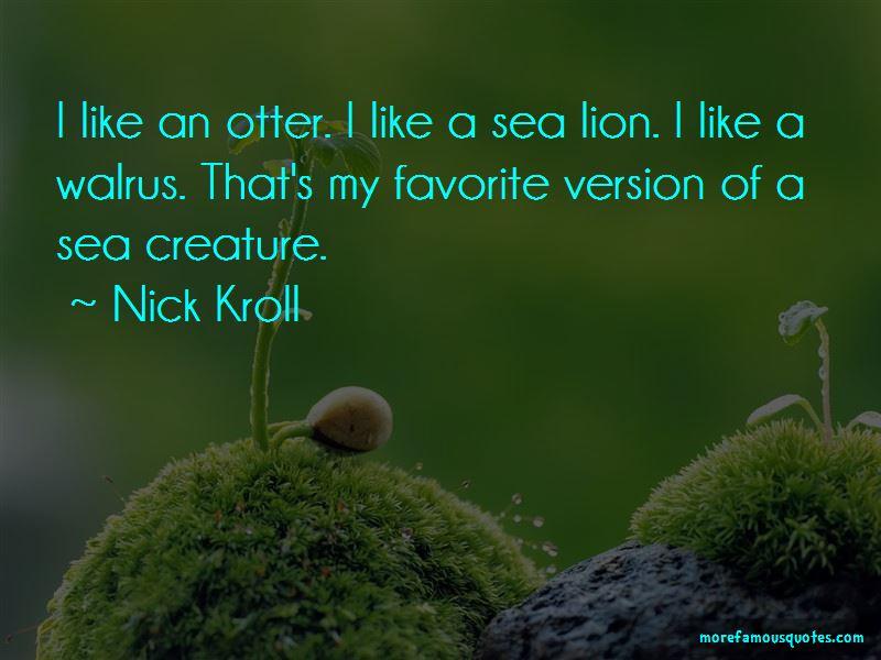 Sea Lion Quotes Pictures 4