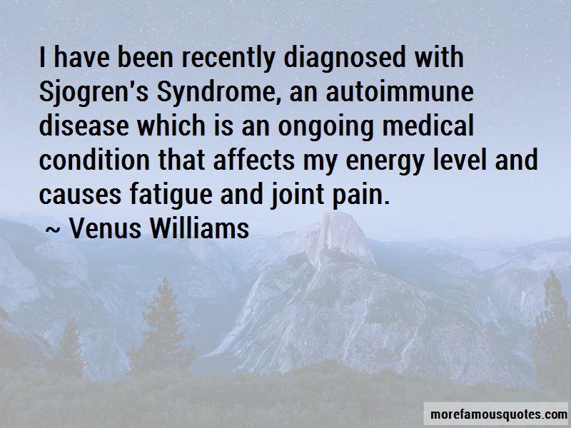 Sjogren's Syndrome Quotes