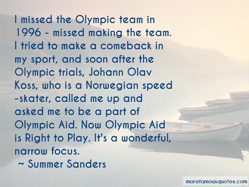 Speed Skater Quotes