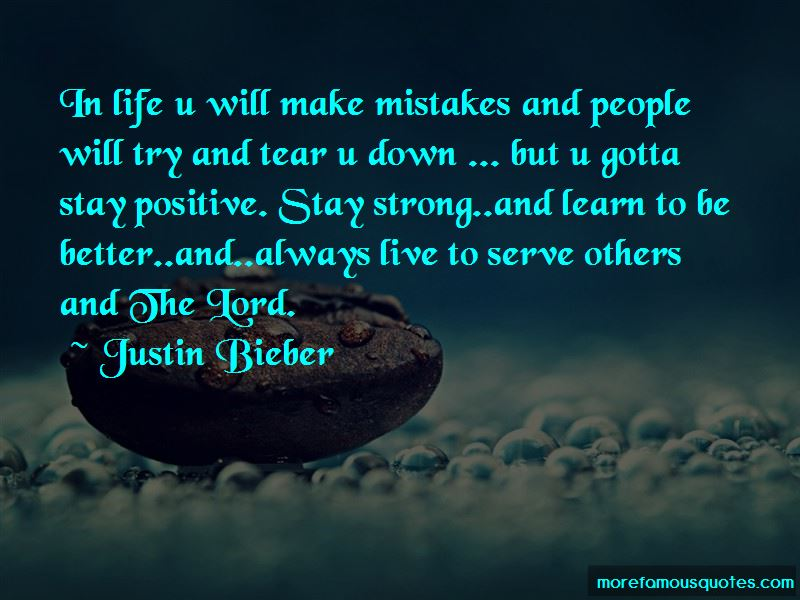Stay Strong Stay Positive Quotes