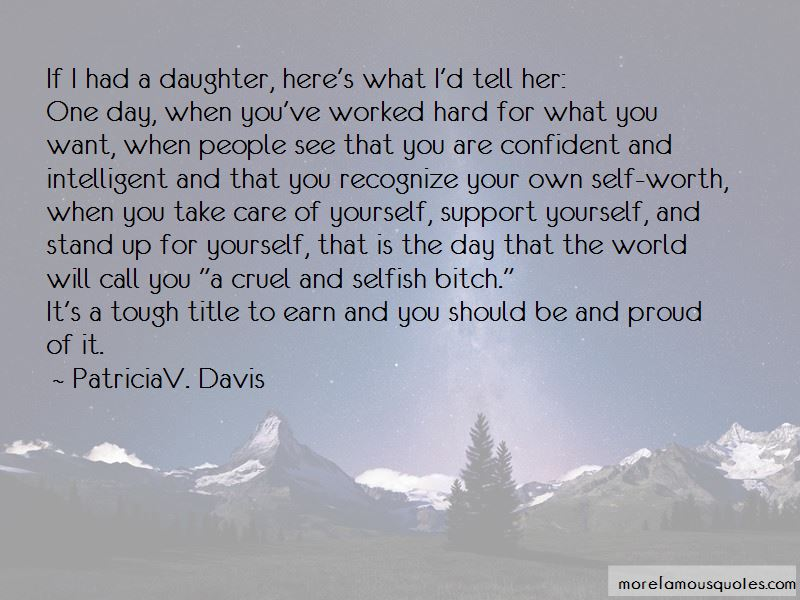 Support Your Daughter Quotes