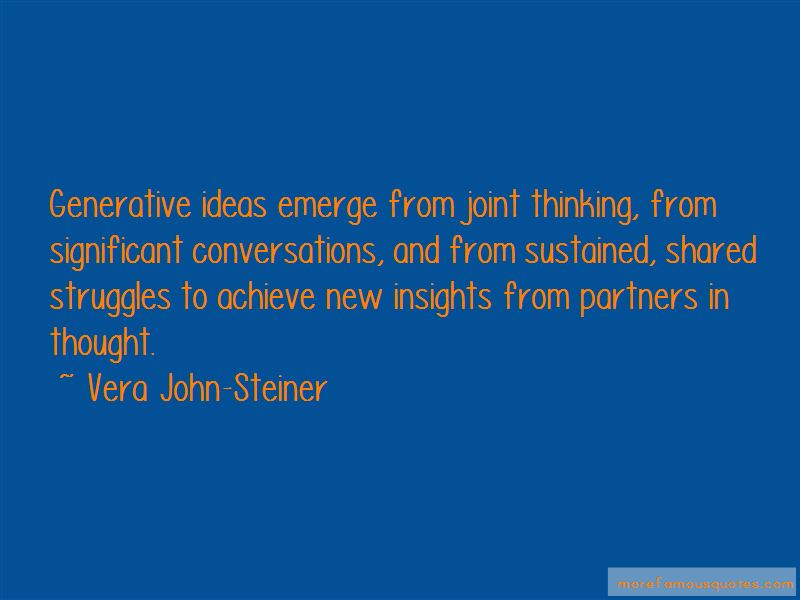 Sustained Shared Thinking Quotes