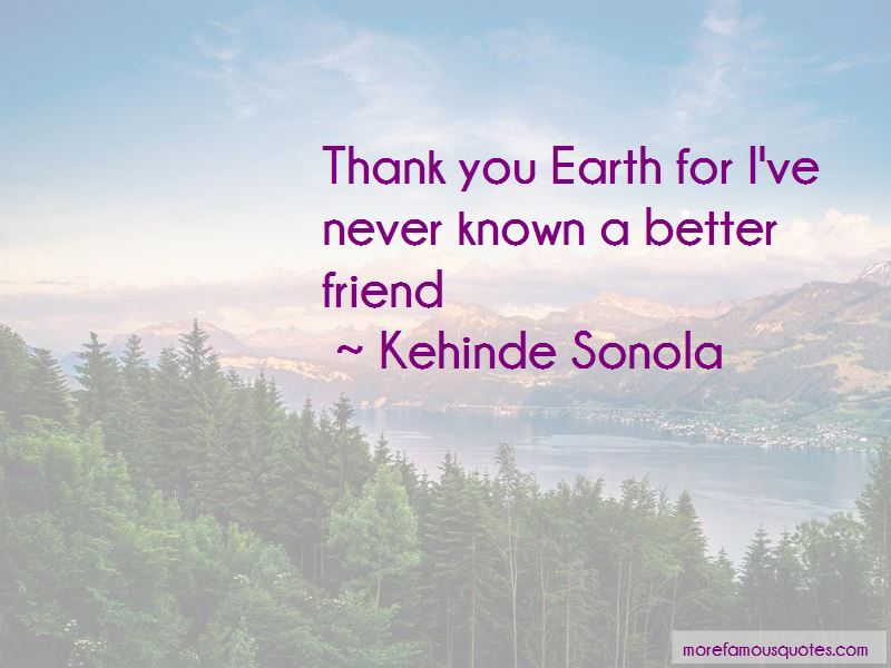 Thank You Earth Quotes