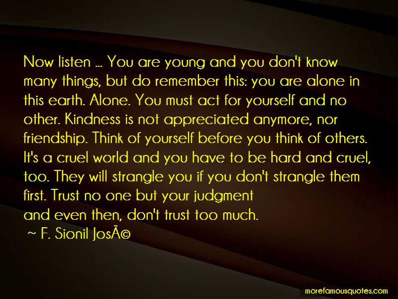 Trust Yourself Not Others Quotes Pictures 3