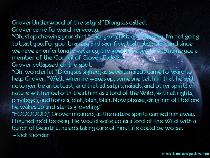 Underwood Quotes