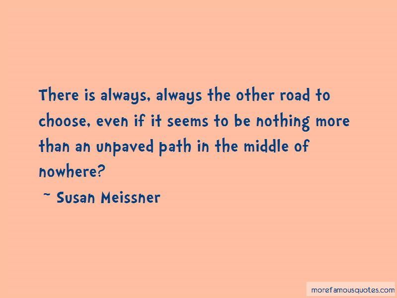 Unpaved Path Quotes