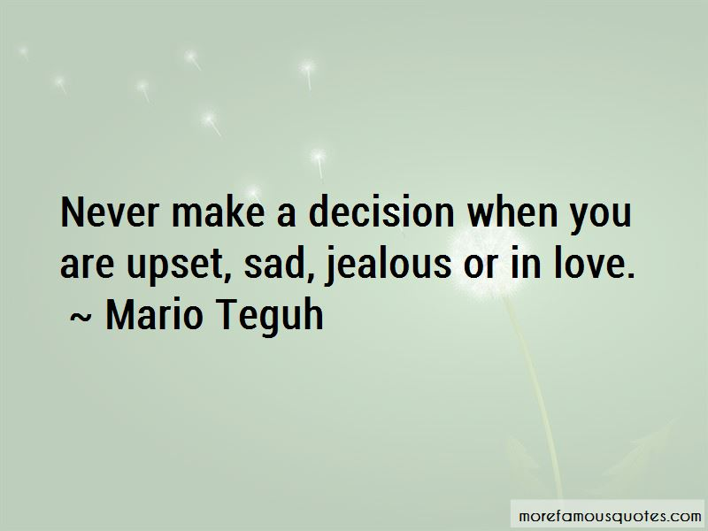 Upset For Love Quotes