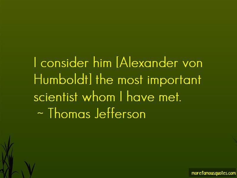 Von Humboldt Quotes