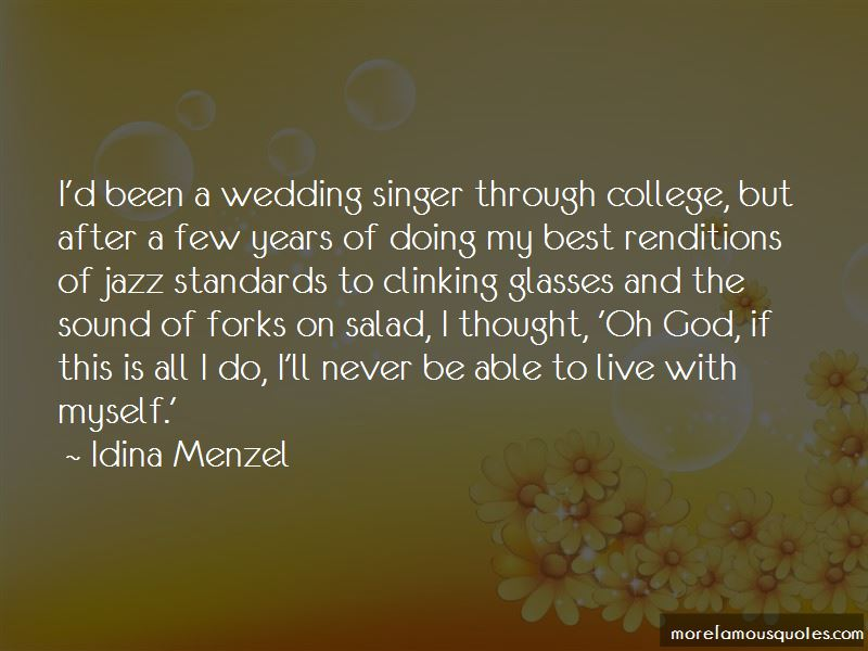 Wedding Singer Quotes Pictures 2