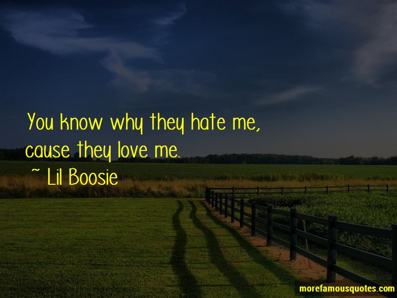 Why They Hate Me Quotes