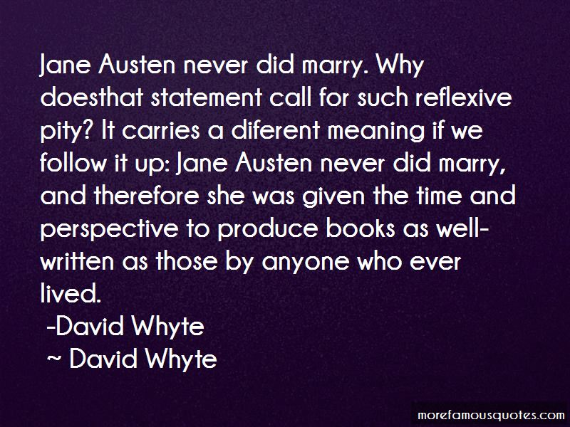 Whyte Quotes