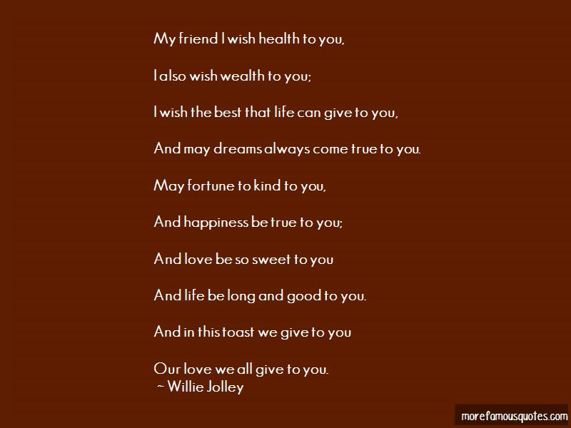 Wish You Best Of Health Quotes