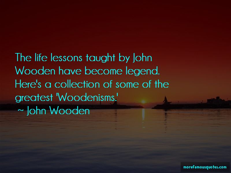 Wooden John Quotes