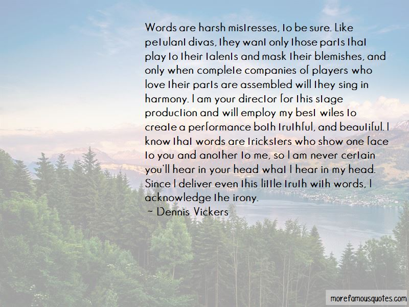 Words Are Harsh Quotes