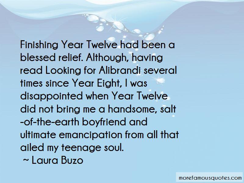 Year Twelve Quotes