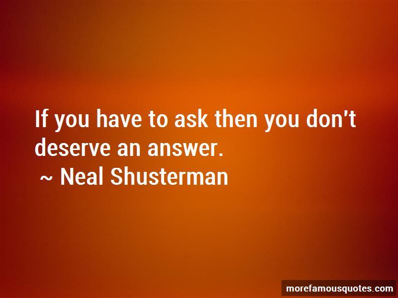 You Don't Deserve Quotes