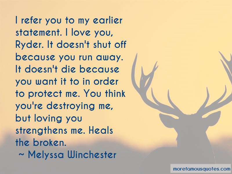 You're Destroying Me Quotes Pictures 3