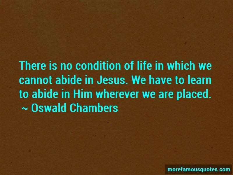 Abide In Jesus Quotes