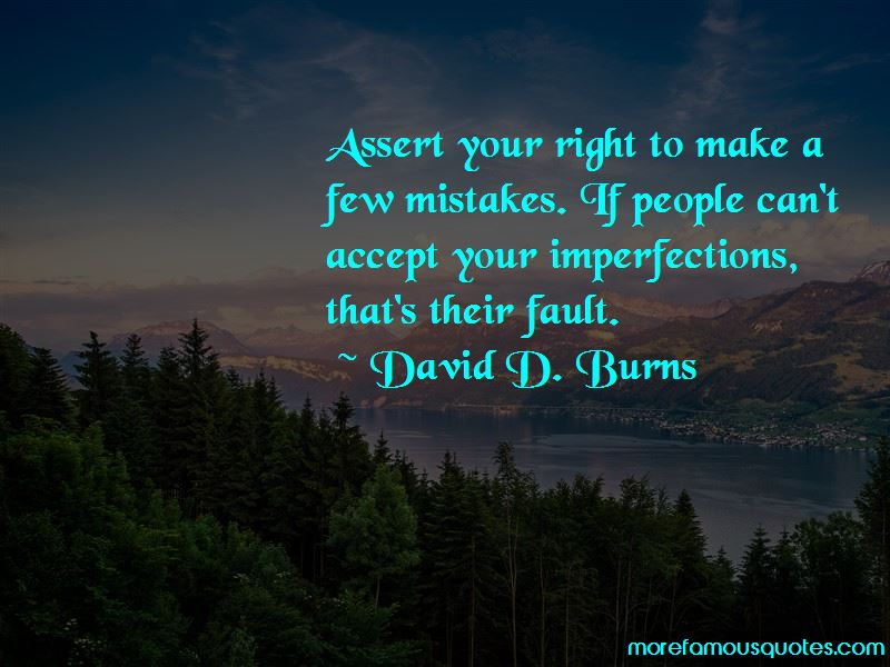 Accept Your Imperfections Quotes