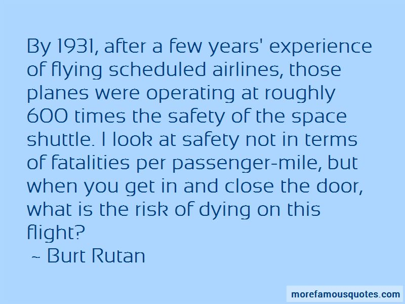 Airlines Safety Quotes