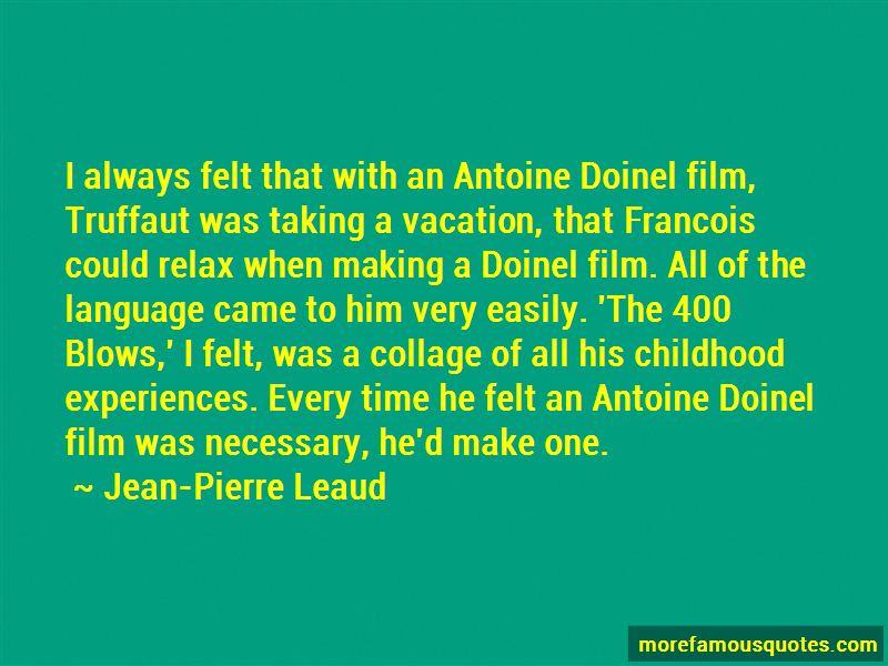 Antoine Doinel Quotes