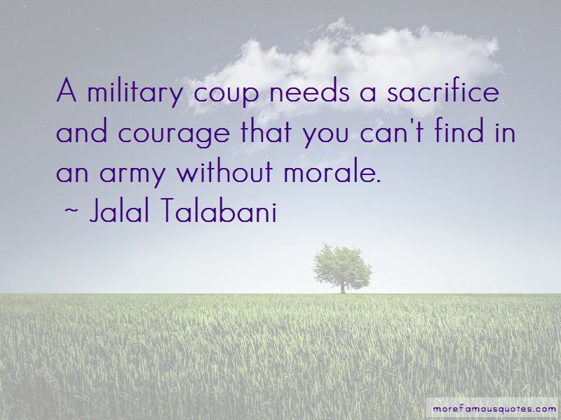 Army Morale Quotes