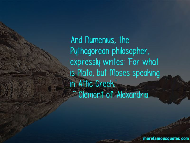Attic Greek Quotes