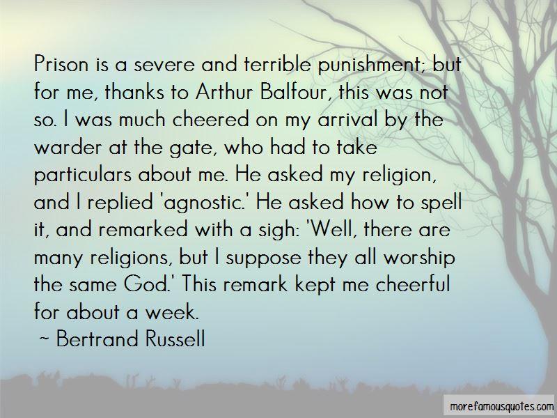 Balfour Quotes