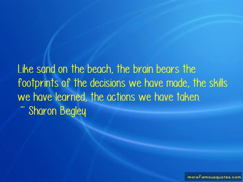Beach Footprints Quotes